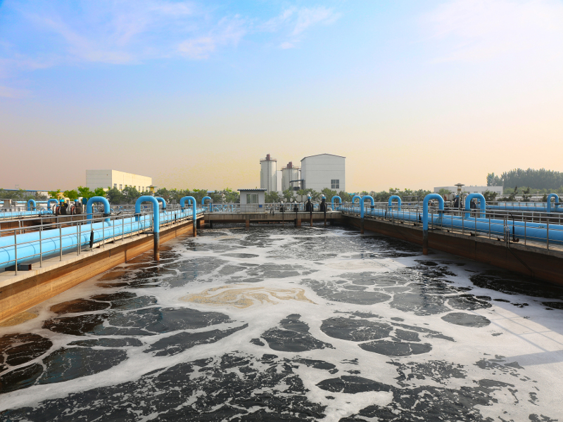 an overview of the treatment of sewage and wastewater Overview the waste water treatment plant is responsible for the treatment of all of the waste water in the city, a capacity of 8,000,000 gallons per day.